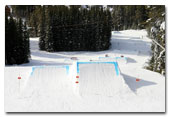 Showtime Terrain Park at Lake Louise