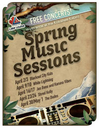 Spring Music Sessions