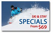 Ski & Stay Specials