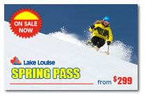 Lake Louise Spring Pass