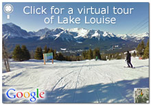 Virtual Tour of Lake Louise - Google Street View