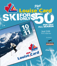 Louise Plus Card poster