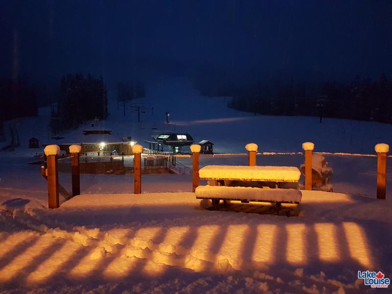 lake louise snow report canada snowboarding
